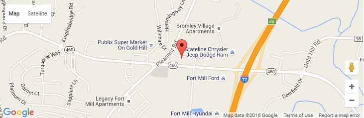 Fort Mill SC Garage Doors Location